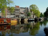 Waterway in Amsterdam