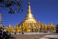 Shwedogon Pagoda in Rangoon