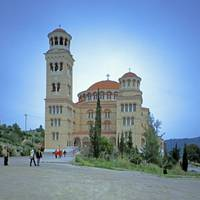 New Monastery, Island of Aegina, Greece 2003 by Priscilla Turner