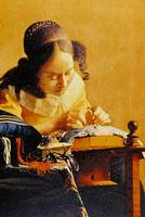 The Lace Maker by Jan Vermeer