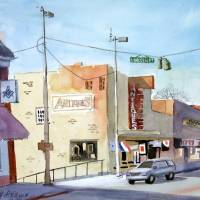 """Lincoln Street, Tullahoma, TN"" by jeffatnip"