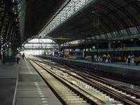 Rail Station in Europe