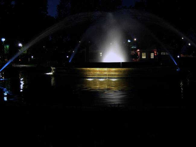 Franklin Square Park Fountain