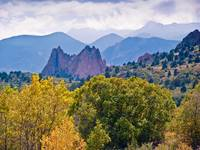 Fall Color at the Garden of the Gods, Colorado Spr