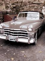 Old Chrysler in Jim Thorpe