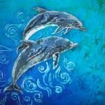 Ocean Dudes - Porpoise Pair Prints & Posters