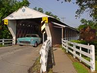 55chevy covered bridge