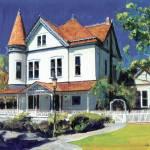 Victorian Mansion by RD Riccoboni by RD Riccoboni