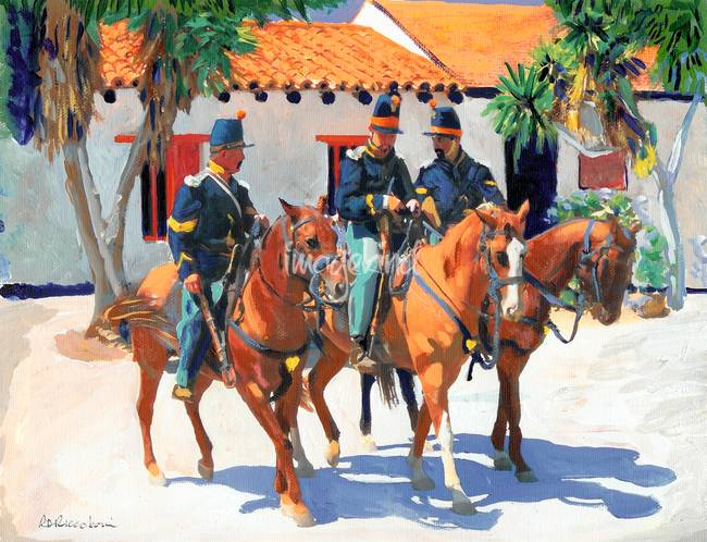 US Army Dragoons by RD Riccoboni