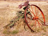 Old Farm Equipment in color