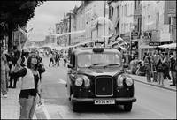 Black Cab in Camden Town, London