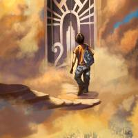 """""""Percy Jackson Leaving Mount Olympus"""" by roccoart"""