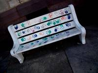Kid Painted Bench