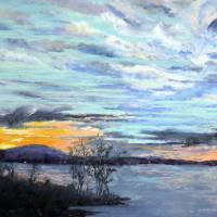 """Evening Sky, Smith Mountain Lake"" by ShelleyKoopmann"