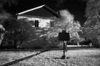 Beaverdams Church in Infrared