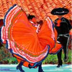 Dancers in Old Town by Rd Riccoboni by RD Riccoboni