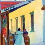 Saloon Girls and Cigars by Rd Riccoboni by RD Riccoboni