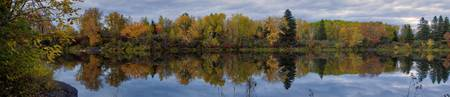 Vermillion River Panorama
