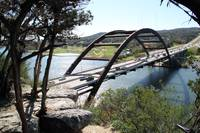 Lake Austin Pennybacker Bridge over
