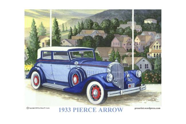 1933 Pierce Arrow
