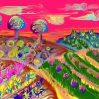 The Strange Garden Art Prints & Posters by Michael Puckett