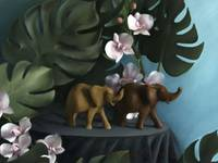 Elephants and Orchids