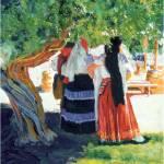 """Under the Shade Tree by Rd Riccoboni"" by RDRiccoboni"