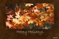 Jean Autumn Leaves 10 Happy Holidays