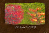 Ariana Autumn Leaves 4 Seasons Greetings