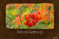 Ariana Autumn Leaves 6 Seasons Greetings