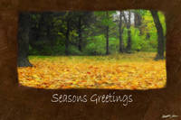 Ariana Autumn Leaves 8 Seasons Greetings