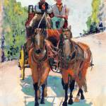 """""""San Diego Stagecoach by RD Riccoboni"""" by RDRiccoboni"""