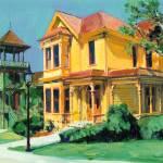 Victorian Mansions by RD Riccoboni by RD Riccoboni