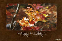 Jean Autumn Leaves 8 Happy Holidays