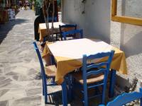 Greek Isles Table for Three