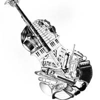 Music Art Prints & Posters by patrickyan