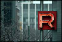 red letter r