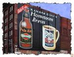 Hometown Brews Building Signage