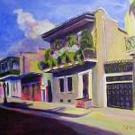 New Orleans Lamp Post By Cdarlene Collins