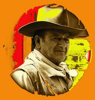 Art homage, Andy Warhol 1, John Wayne, Old Tucson