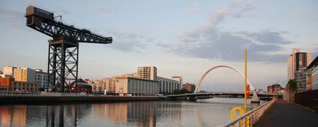 Evening on the River Clyde, Glasgow