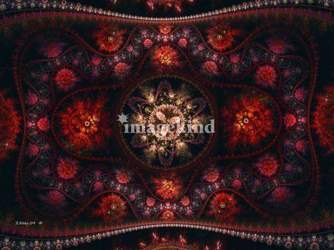 Turkish Rug ~ Abstract