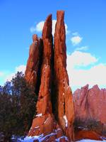Erosional Feature in Garden of the Gods 0965
