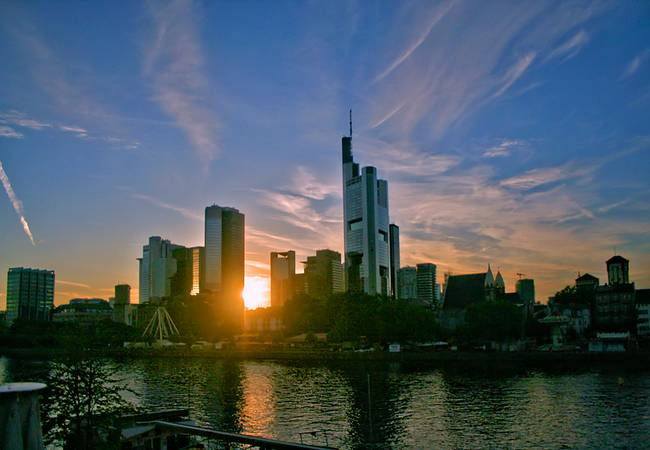 Skyline @ Frankfurt )Germany(