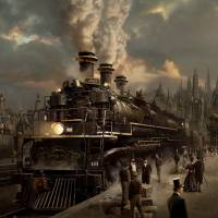 """Railroad Iron"" by sareltheron"