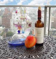 Manhattan Westside View With Still Life
