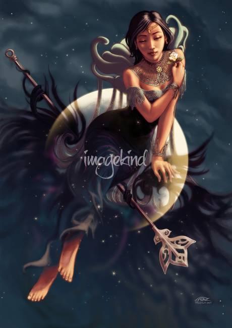 Moon Priestess By Rafi Adrian Zulkarnain