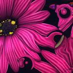 Fuchsia daisy by Deanne Flouton