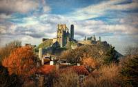 Autumn at Corfe