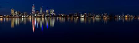 Perth by Night Panorama